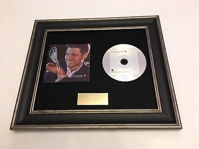 £99.99 • Buy  Personally Signed/autographed Michael Buble - Love Framed Cd Presentation