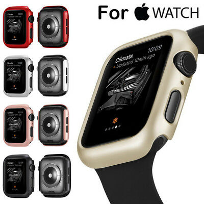 $ CDN5 • Buy For Apple Watch IWatch 1/2/3/4 Hard PC Bumper Case Cover Protector 38/42/40/44mm