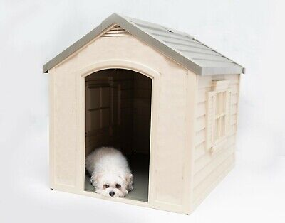 $119.58 • Buy Dog Houses For Large Dogs Big Pet Puppy Doghouse Kennel Indoor Outside Outdoor