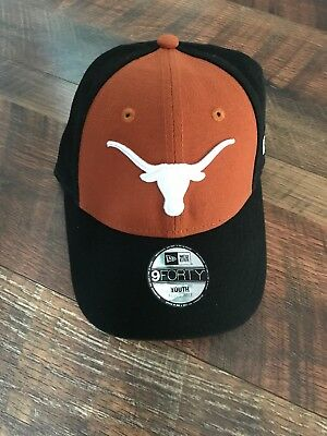 a104b8417e0 New Texas Longhorns Hat Cap Adjustable New Era Stitch University College  Youth • 13.99