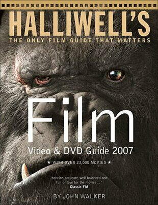 Halliwell's Film Video & DVD Guide 2007 By John Walker Paperback Book The Cheap • 6.49£