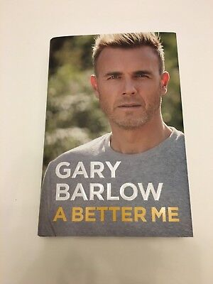 Personally Signed/autographed Gary Barlow - A Better Me Hardback Book.take That • 79.99£