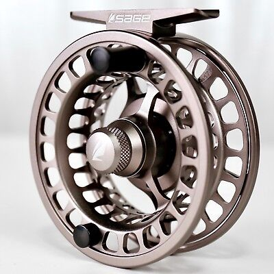 $375 • Buy Sage Spectrum LT Reel 3/4 Silver - FREE FLY LINE AND BACKING - FREE FAST SHIP