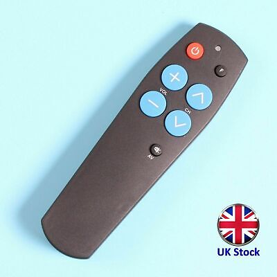 Big Button Universal TV Remote Control For Seniors/Elderly - UK Stock - FREE P&P • 12.99£