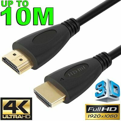 AU6.75 • Buy HDMI Cable V2.0 3D Ultra HD TV 4K 2160p 1080p High Speed With Ethernet HEC | ARC