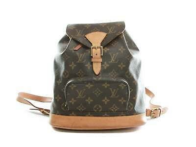 4ee59e6fcb21 Authentic Louis Vuitton Montsouris MM Backpack Monogram M51136 • 830.00