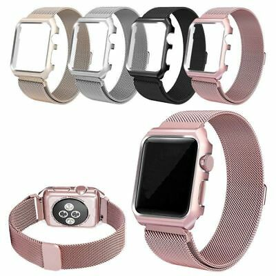 AU27.03 • Buy Milanese Loop Strap Magnetic Stainless Band Cover For Apple Watch Series 1/2/3/4