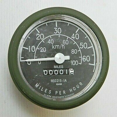 $80 • Buy Nos Speedometer Miles/hour Over Seas Style Military Jeep M151 A1 M38 M38a1 M170