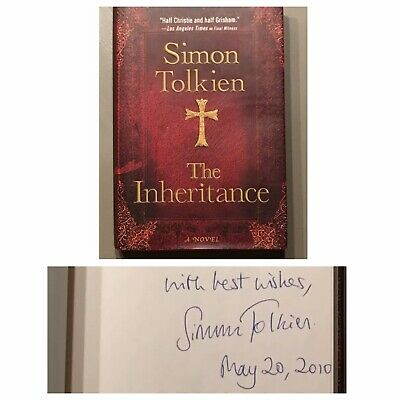 £14.16 • Buy SIGNED The Inheritance By Simon Tolkien 2010 Hardcover 1st Edition 1st Printing