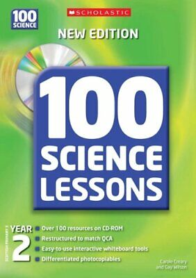 100 Science Lessons For Year 2 With CDRom By Wilson, Gay Mixed Media Product The • 5.99£