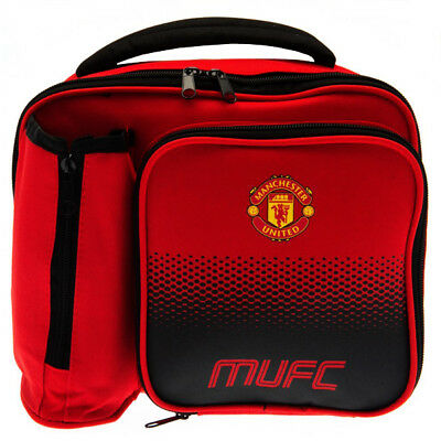 Official Manchester United Football Club Team Fade Lunch Bag Lunch Box School • 14.49£