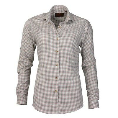 Laksen Violet Ladies Cotton/Wool Mix Shirt • 19.95£