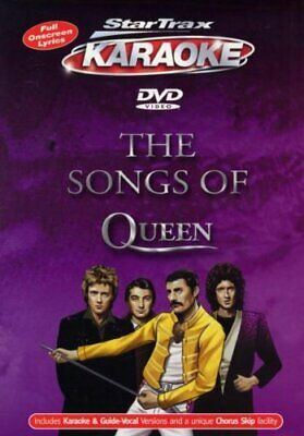 Karaoke - The Songs Of Queen [DVD] - DVD  04VG The Cheap Fast Free Post • 3.49£