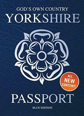 Yorkshire Passport: Blue Edition By Adrian Braddy Book The Cheap Fast Free Post • 7.99£