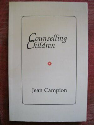 £6.19 • Buy Counselling Children By Campion, Jean Paperback Book The Cheap Fast Free Post