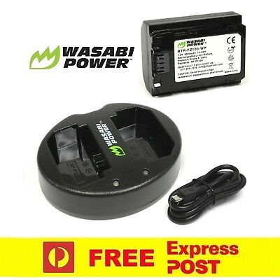 $ CDN98.17 • Buy Wasabi Power Battery X1 And Dual USB Charger For Sony NP-FZ100,a9,a7R III,a7 III