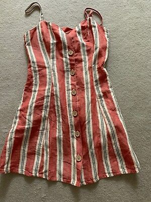 AU25 • Buy Brand New Urban Outfitters Summer Stripe Dress - Size XS