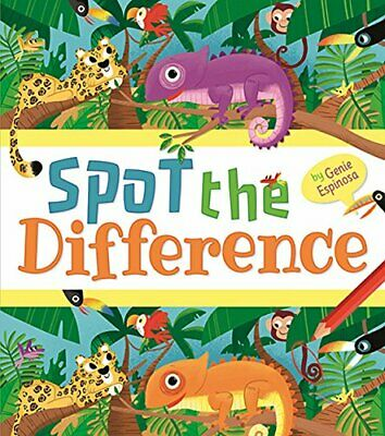 £4.99 • Buy Spot The Difference By Genie Espinosa Book The Cheap Fast Free Post