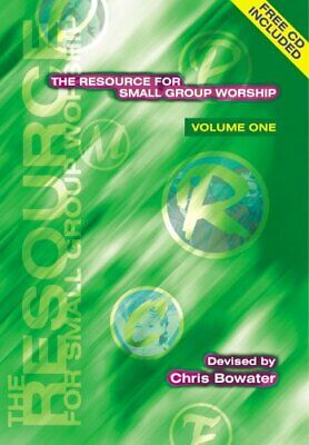 Resource For Small Group Worship (volume 1) By Bowater, Chris A. Paperback Book • 7.99£