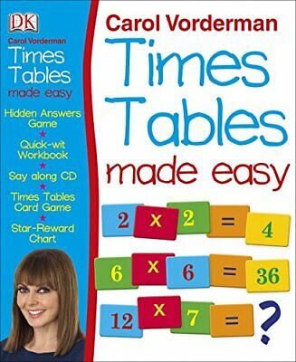 £13.99 • Buy Carol Vorderman's Times Tables Made Easy By Vorderman, Carol Book The Cheap Fast