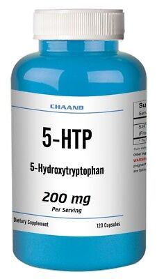 $ CDN267.16 • Buy 5-HTP 200mg/100mg Per Serve - 120 CAPSULES / NEW SEALED BOTTLE