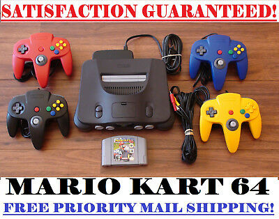 $ CDN284.80 • Buy N64 Nintendo 64 Console + Controller(s) + Mario Kart Bundle! Cleaned And Tested!
