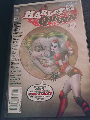 $ CDN12.70 • Buy Harley Quinn Comic Book #0, DC New 52 2014, 1st Printing