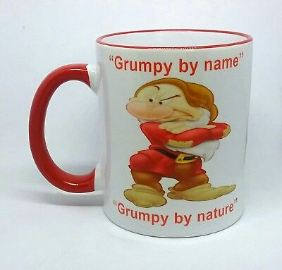 Mr Grumpy Coffee Mug Novelty Snow White Grumpy Granddad Gift Present Birthday   • 9.99£