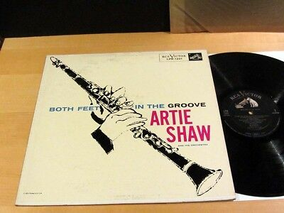 $90 • Buy Rare ANDY WARHOL Cover ARTIE SHAW Both Feet In The Groove RCA LPM-1201 NM/NM-