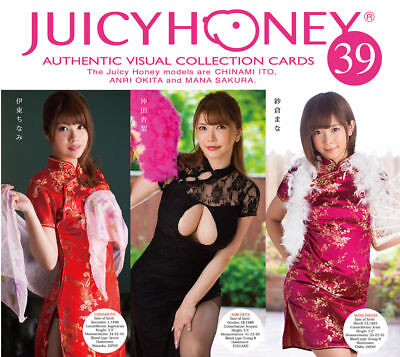 $ CDN35.31 • Buy 2017 Juicy Honey Series 39 * 72-card SET * Chinami Ito, Anri Okita & Mana Sakura