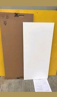 B&Q KITCHEN CABINET CLAD ON WALL PANEL WHITE GLOSS 356mm X 778mm (4947) • 17£