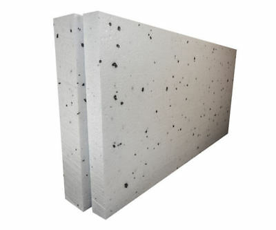 £48.50 • Buy 40mm White Polystyrene Board (EPS) For External Wall Insulation (pack Of 15)