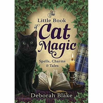 The Little Book Of Cat Magic: Spells, Charms And Tales - Paperback / Softback NE • 12.77£