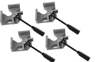 $49.99 • Buy Set Of 4 Corner Right Angle Vice Clamps Metal Welding Woodworking 90 Degree