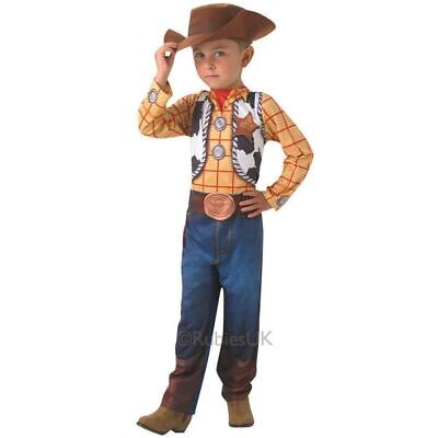 Boys Woody Costume Fancy Dress Toy Story Outfit Book Day Disney • 21.99£