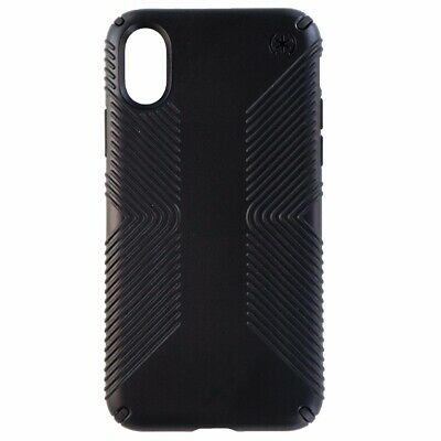 AU10.37 • Buy Speck Presidio Grip Series Slim Hard Case Cover For Apple IPhone X10/ XS - Black