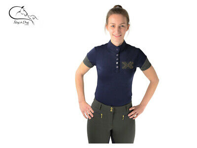 £44.01 • Buy HyFashion 'Arabella' Ladies Technical Competition Show Shirt Jumping Dressage