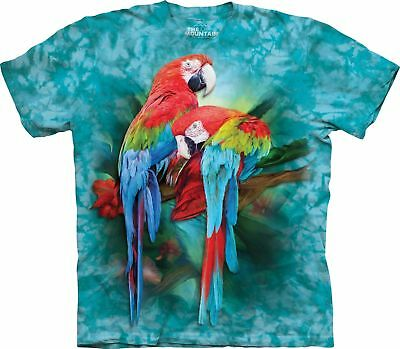 £25.99 • Buy MACAW MATES The Mountain T Shirt Tropical Bird Parrot Unisex - Eco-friendly