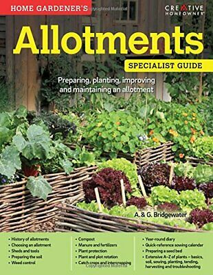 £4.49 • Buy Home Gardener's Allotments By A. & G. Bridgewater Book The Cheap Fast Free Post