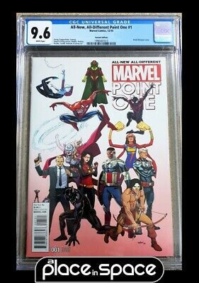 AU105.80 • Buy All New All Different Point One #1 - Marquez Variant - Cgc 9.6