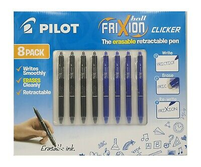 AU12.99 • Buy Pilot Frixion Erasable And Refillable Roller Ball Pen Blue 0.7 Mm NEW