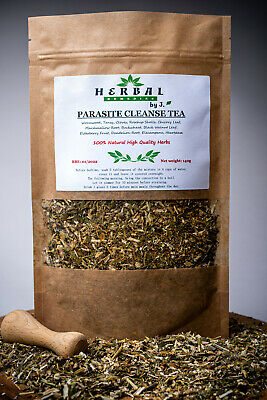 Parasite Cleanse Tea (Wormwood Tansy Cloves Black Walnut Dandelion Herb) 140g  • 12.99£
