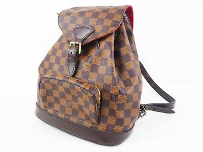 f95a3fa84b56 100% Auth LOUIS VUITTON Montsouris MM Backpack Damier N51136 Special Order  • 1