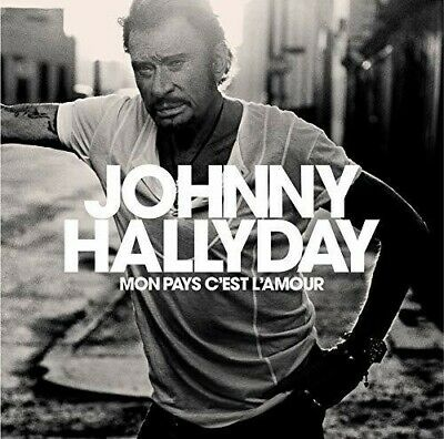 AU23.28 • Buy Johnny Hallyday - Mon Pays C'est L'amour [New CD] Canada - Import