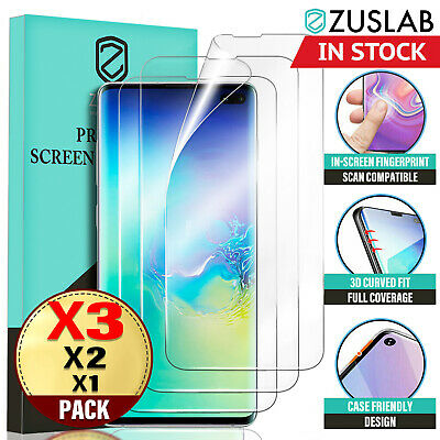 AU5.95 • Buy Galaxy S10 S10+ S9 S8 Plus ZUSLAB Full Cover Screen Protector For Samsung X 3
