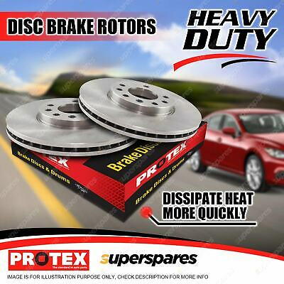 AU148.89 • Buy Pair Front Protex Vented Disc Brake Rotors For Nissan Maxima J30 2/90 - 10/94