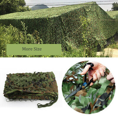 Oxford Fabric Camouflage Net/Camo Netting Hunting/Shooting Hide Army Large Sizes • 11.98£