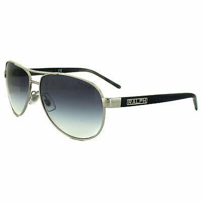 Ralph By Ralph Lauren Sunglasses 4004 102/19 Silver & Blue Grey Light Blue Gradi • 59£
