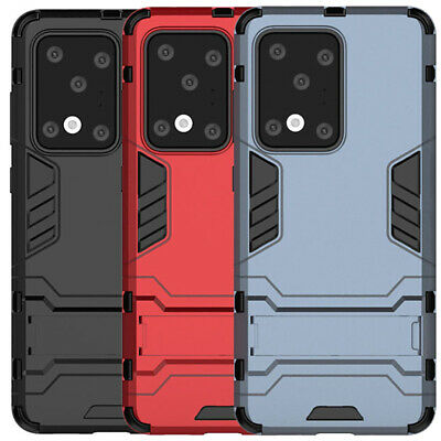 $ CDN4.91 • Buy For Samsung Galaxy S20 Ultra S10 Plus S9 S8 S7 Shockproof Armor Stand Case Cover