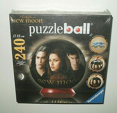 $9.99 • Buy Ravensburger New Moon 3D Puzzle Ball - 240 Pieces 6  Ball - Twilight Saga - New